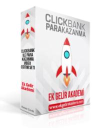 hasan çevik clickbank ile para kazanmak videolu eğitim seti kitap